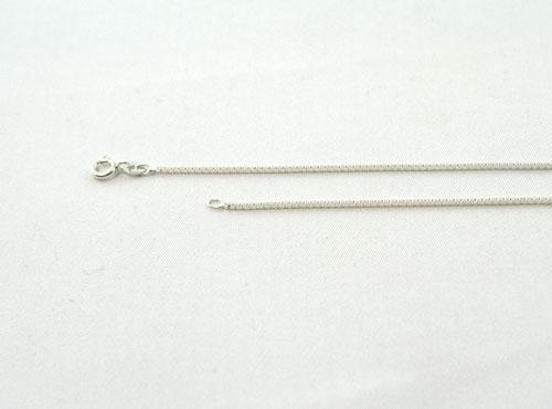 Schlangenkette Silber in 1,4 mm