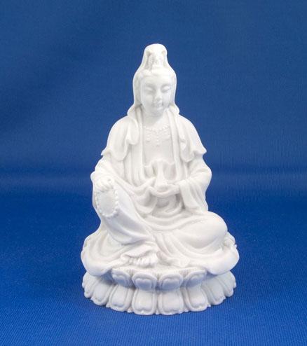 Kwan Yin alabaster
