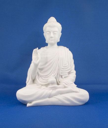 Medizinbuddha Alabaster