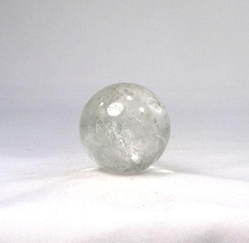 "Unikat Bergkristall mit Chlorit, ""Chloritquarz"" Kugel"