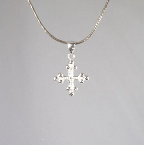 Anhänger Kreuz Kleeblatt-Kreuz