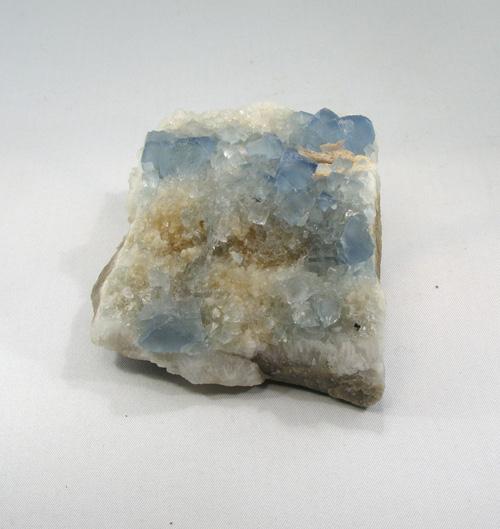 Fluorit blau Stufe