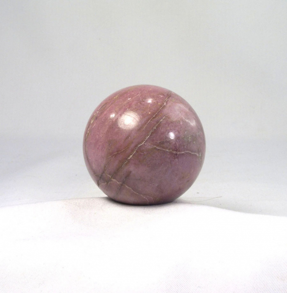 Unikat Rhodonit Kugel 50 mm
