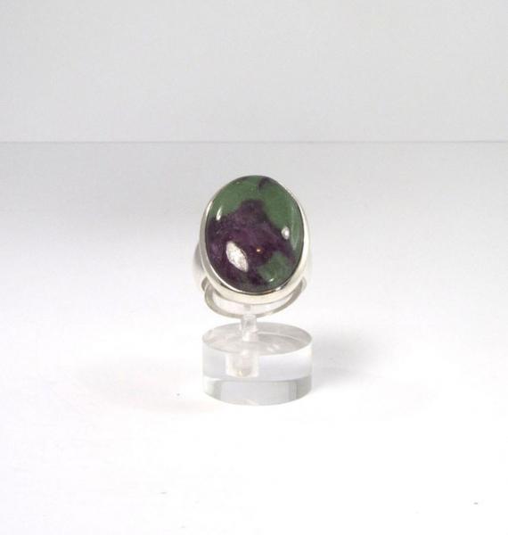 Unikat Ring Rubin-Zoisit Oval