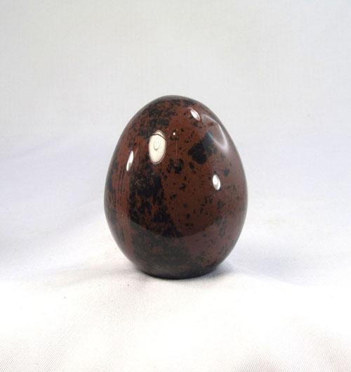 Mahagoni-Obsidian Ei
