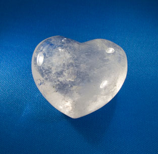 Herz Bergkristall 50 mm