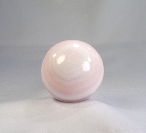 Unikat Calcit- rosa, Mangano-Calcit Kugel
