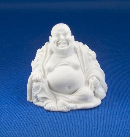 Lachender Buddha Alabaster