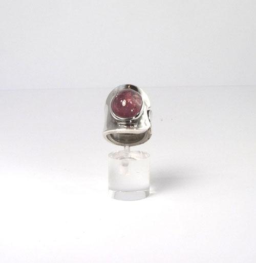 Unikat Ring Turmalin Rubellit Oval