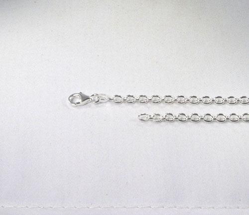 Ankerkette Silber 4 mm