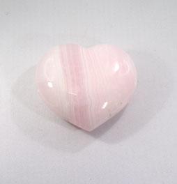 Herz Calcit rosa