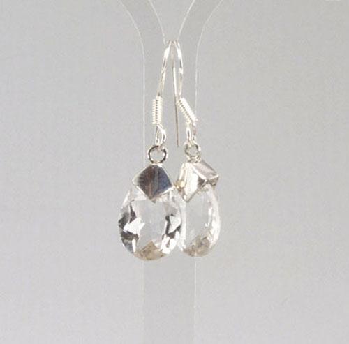 Ohrhänger Bergkristall