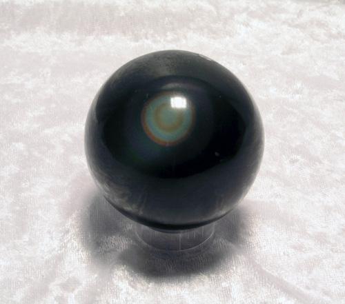 Regenbogen-Obsidian Kugel