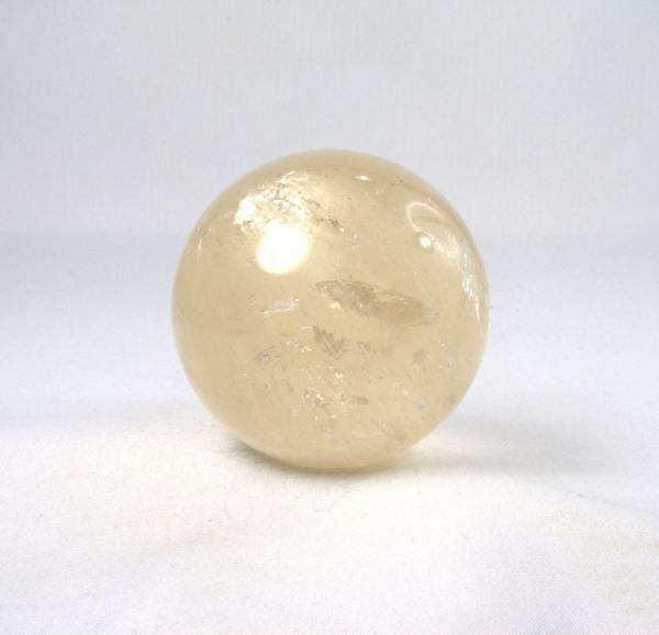 Unikat Calcit Kugel Gold 60 mm