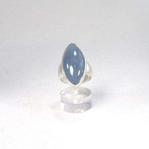 Ring Aquamarin Navette