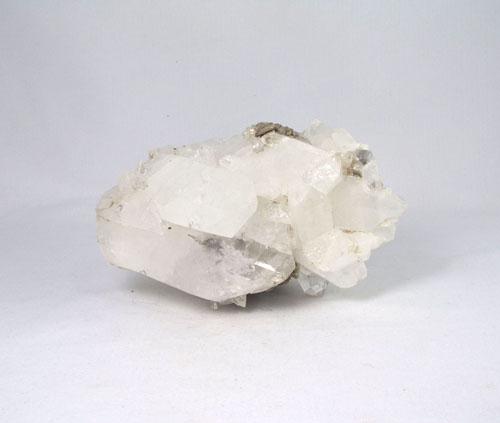 Unikat Große Bergkristall Stufe mit Doppelender aus Gilgit