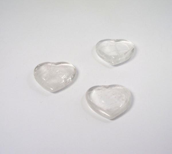 Herz Bergkristall 40 mm