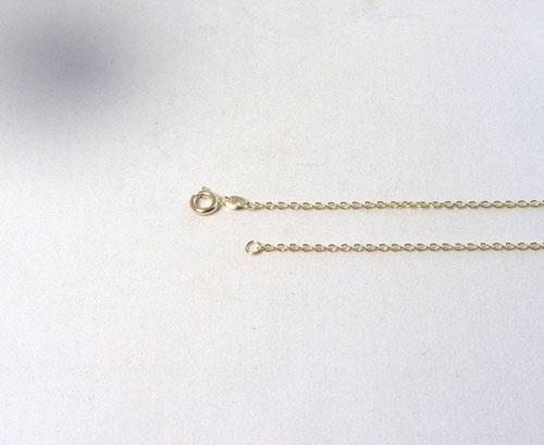 Ankerkette Silber vergoldet