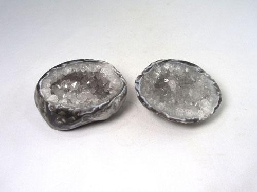 Unikat Achat Geode poliert klein