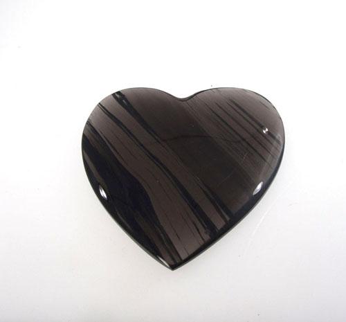 Lamellen-Obsidian Herz