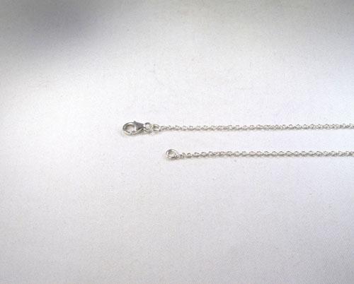 Ankerkette Silber 1 mm