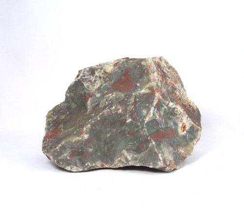 "Unikat Heliotrop Rohstein ""Vulkan-Jaspis"""