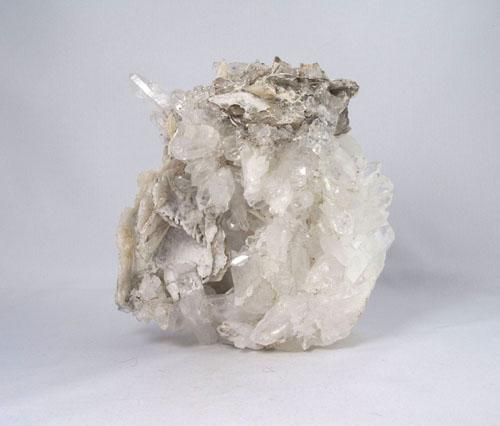 Unikat Große Bergkristall Stufe mit Matrix aus Gilgit