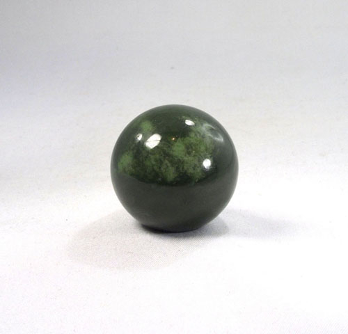 Nephrit Jade Kugel 30 mm