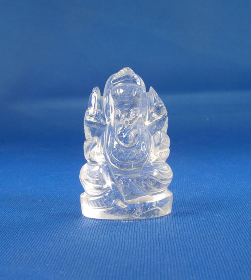 Bergkristall Ganesha mini