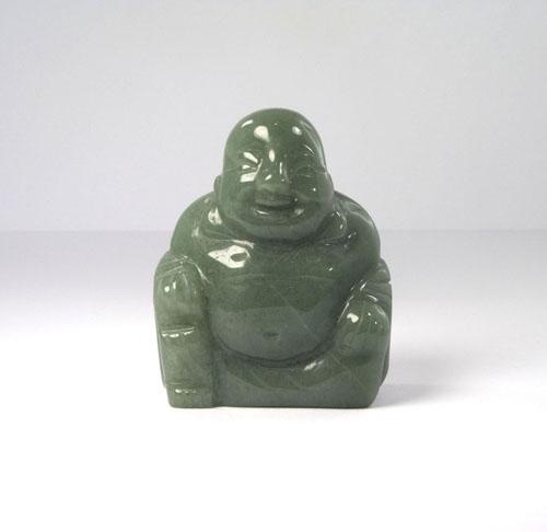 Lachender Buddha Aventurin