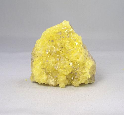 Unikat Schwefel kristallin klein