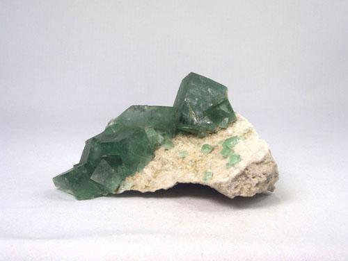Unikat Fluorit grün Stufe