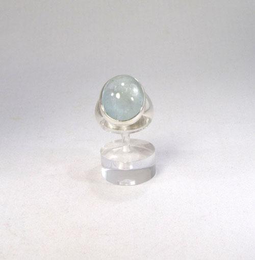 Ring Aquamarin Oval