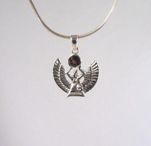 Anhänger Isis Granat-Göttin