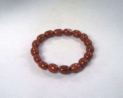 Roter Jaspis Armband Barock