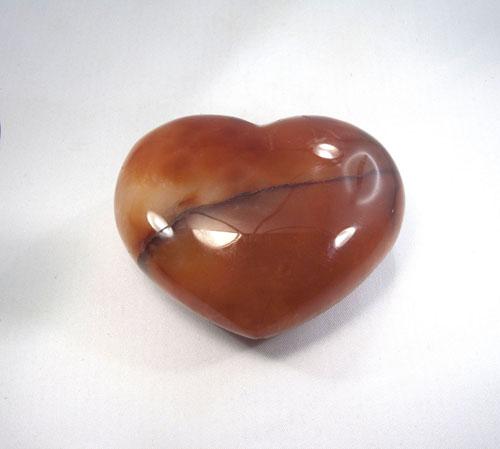 Herz Karneol