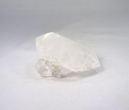 Unikat Bergkristall Doppelender aus Gilgit