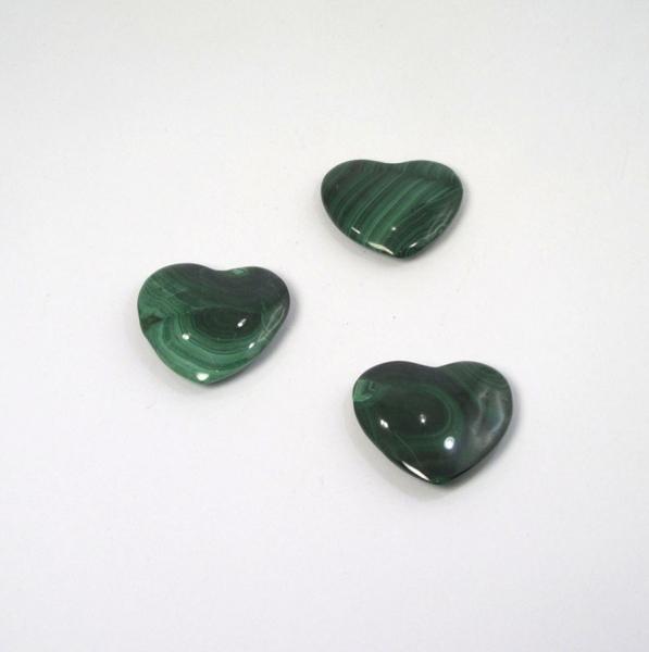 Herz Malachit 35 mm