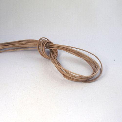 Lederband 1,5 mm Ziege natur